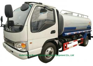 China JAC Road Wash  Water Carrier Truck  5000L  With  Water  Pump Sprinkler For  Clean  Water Delivery and Spray on sale