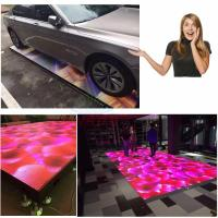 Interactive 5V 60A SMD Led Light Up Dance Floor 1920HZ Full Color Vivid Video