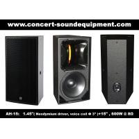 "600W Nightclub Sound Equipment , 1.4"" + 15"" Full Range Speaker For Show , Disco , Living Event And DJ"