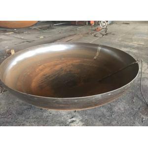 バットは継ぎ目が無い鋼管の帽子ASME/ANSI B16.9 UNS S31803/2205を溶接しました