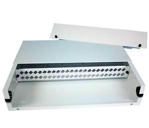 China 4RU hot dorm 50 52 58 96 cores ODF fiber termination box  24 / 36  rack mount on sale