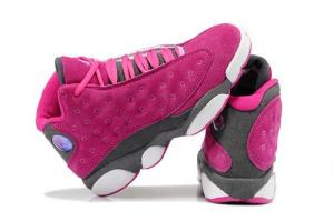 China Nike Air Jordan 13 Shoes 2014 New Womens Fushia $62.98 SportsYTB. Ru on sale
