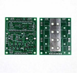 China Two Layer 1 Oz Double Sided PCB Manufacturing Immersion Silver Rigid Circuit Board on sale