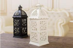 China Wholesale Wedding Decoration European Style Metal Candle Lantern on sale