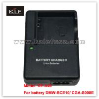 Camera charger DE-A40 for Panasonic camera battery S008E