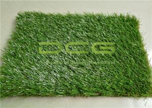 China Anti - UV Landscape Decoration Natural Looking Artificial Grass For Home Lawns on sale