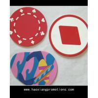 Wholesale new creative love heat pad anti-scald restaurant placemats silicone coaster