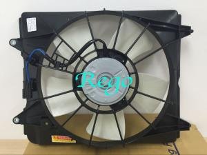 China High Flow Electric Car Radiator Cooling Fan With Motors For CRV 2007 - 2011 on sale