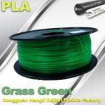 Grass Green biodegradable 3d printer filament PLA 1.75mm materials