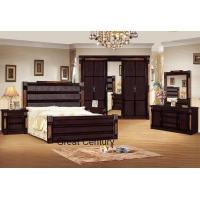 Solid wood oak home bedroom set furniture 2295#