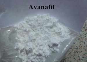 China Natural Good Effect Male Hormones Avanafil Powder 330784-47-9 on sale