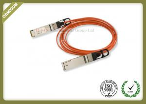 China 40GbE SFP Fiber Module Active Optical Cable 1 Meter OM2 / OM3 Type on sale