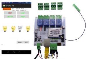 Wi-Fi 4IO 4DO 4DI android phone control Network RJ45 relay