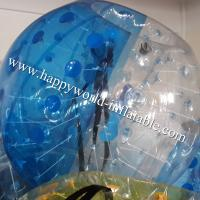Half clear bubble bumper ball , human bubble ball , bubble ball , human inflatable bumper