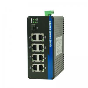 China 1000M Fiber Optic Ethernet Switch , Unmanaged Industrial Ethernet Switch Poe on sale