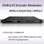 REM7001 SDI TO DVB-S/S2 Encoding Modulator Support BISS 1 BISS E Scrambling HD SDI Encoder