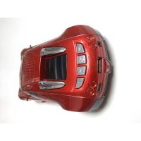 3.5 Audio Cable Red Bluetooth Speaker With FM Radio / Car Shaped Speakers With SD Card For Car