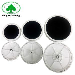 China Micro Aeration Membrane Disc Nano Bubble Diffuser For Shrimp Pond on sale