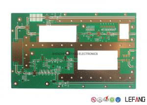 China Rogers 2.0mm 3 OZ Copper PCB , Immersion Gold Copper Printed Circuit Board on sale