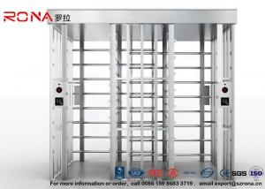 China Safety RFID Access Control Turnstile Revolving Gate For Residential Entrance on sale