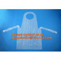 pe disposable apron in kitchen household,chef disposable plastic aprons,Cheap price plastic disposable apron BAGEASE