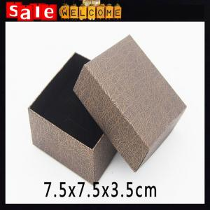 China Square Sponge Gift Box ,Jewelry Packaging Gift Box,Display Gift Box Bowknot Square Case on sale