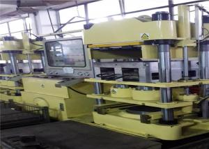 China 4 Hydraulic Cylinder Isobaric Brake Pads Production Line / Brake Shoe Making Machine on sale