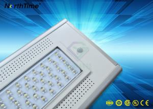 China 30W High Lumen Outdoor Ip65 Solar LED Street Light Automatic Light And Time Control on sale