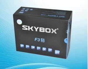 China newest original skybox f3s satellite receiver software download 1080p receiver support gprs skybox f3s on sale