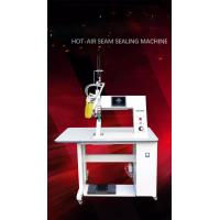 China Hot-Air Seam Sealing Machine , Differential Speed Regulation For Top And Bottom Feed Roller on sale