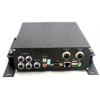 HDD Mobile DVR Basic Model 4 Ch D1 RJ45 Stable RS485 Connection 4CH 3G Slim Card Security for Buses Coach Tractors Taxi