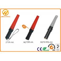 China Multifunction Police Red LED Lights Battery PoweredTraffic Safety Wand (L)26.5 * (DIA) 3.5 cm on sale