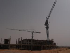 China 8T Max Lifting Load Heavy Lift Crane , Diecast Construction Cranes Heavy Equipment on sale