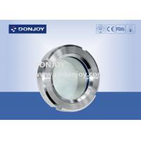 ISO9001 / 2008 DN25-DN150 Basic weld on sight glass for  pharmacy