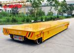 Anti Heat Battery Transfer Cart Cylinder Transfer Bogie 1 - 300 Load Capacity Move On Rails
