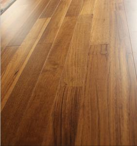 China finger Jointed myanmar Teak Engineered parquets with single plank, UV lacquer on sale