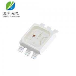 China LED Module RGB LED Chip SMD5074 PLCC6 White / Red / Green / Blue /  Yellow / Amber on sale