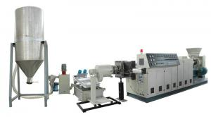 China Plastic Film Granules Machine , PP/PE Recycling Machine on sale
