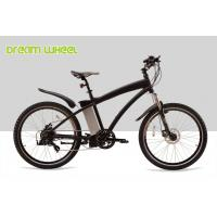 Aluminum Electric Mountain Bikes E Bicycle 26 Inch Black Red White High Performance