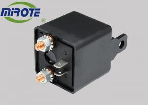China Heavy Duty Split Motorcycle Electrical Relays On / Off Van Car Boat  , 12v 120 Amp 4 Terminal Relay on sale