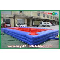 China PVC Material Inflatable Sports Games Snookball Tables For Kids Playing on sale