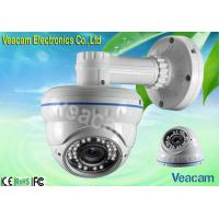 4-9mm Manual Zoom Lens Weatherproof Surveillance LED IR Vandal Proof Dome Camera
