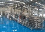 Industrial Tomato Paste Processing Line Turnkey Processing Line With 12 Months Warranty