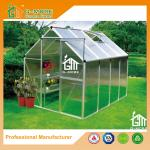 Low Cost Agriculture Walk in Aluminum Conservatory With Gutter - 258x195x185cm