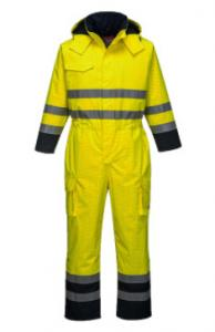 China Polyester / Cotton Industrial Work Clothes Long Sleeve Waterproof Coveralls on sale