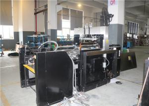 China CE Standard Automatic Silk Screen Printing Machine Swing Stop Cylinder Screen Printer on sale