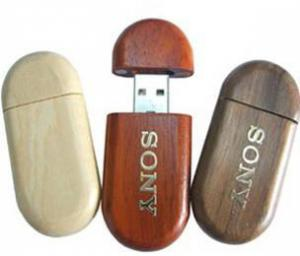 China OEM Wooden USB Flash Drive on sale