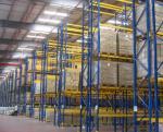 Cold - Rolled Steel Q235 Workshop Beam Pallet Racking 1.5-2.5mm Depth