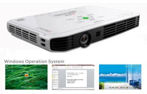 China PPT Presentation Wifi Multimedia 3D DLP Projector / Beamer 20-300 Inch on sale
