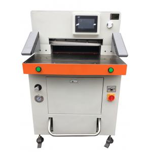 China Electric 670mm Paper Roll Cutting Machine For A4 And A3 Size With Plastic Cover on sale